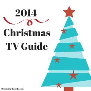 Christmas TV Guide 2014