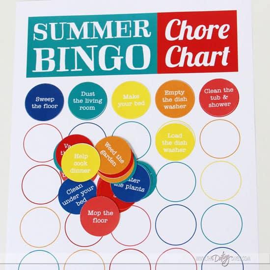 Printable-Summer-Bingo-Chore-Chart
