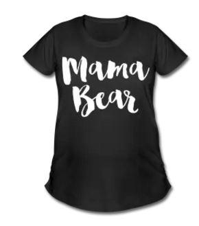 Mama Bear Maternity Tee