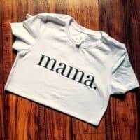 Mama Crewneck Tee