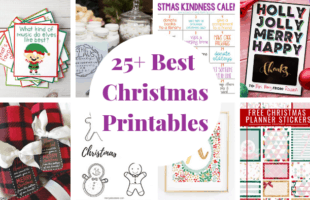 25 Best Free Christmas Printables
