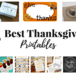 25 Best Thanksgiving Printables