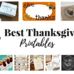 25 Best Thanksgiving Printables