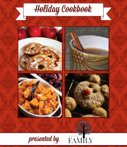 holiday cook book BF