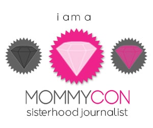 MommyCon Blogger Badge