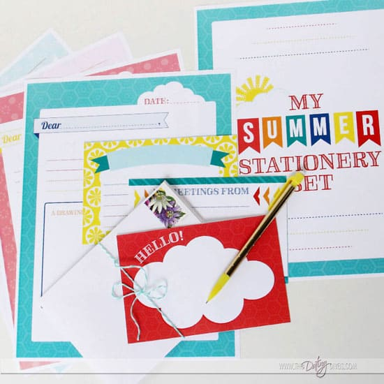 Printable-Summer-Stationery-Set-for-Kids