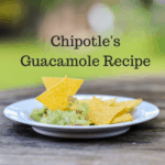 Chipotle's Secret Guacamole Recipe