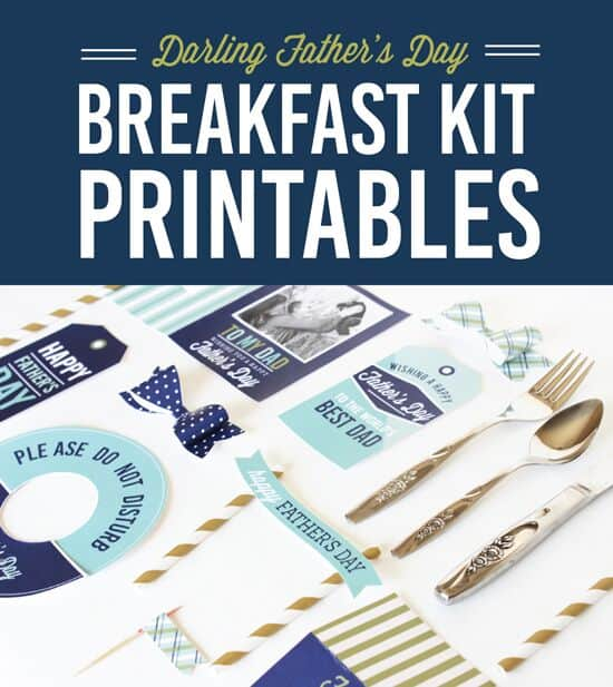 breakfast printable