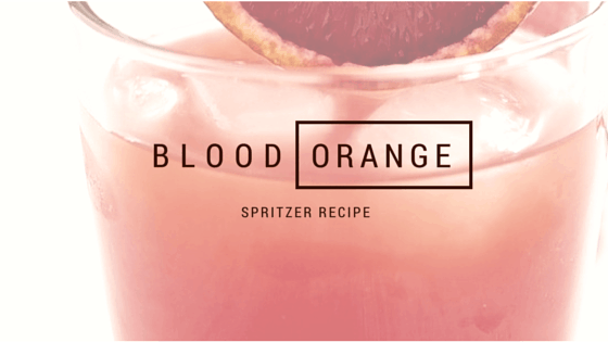 blood orange spritzer recipe