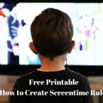 Free Printable on How to Create Screentime Rules