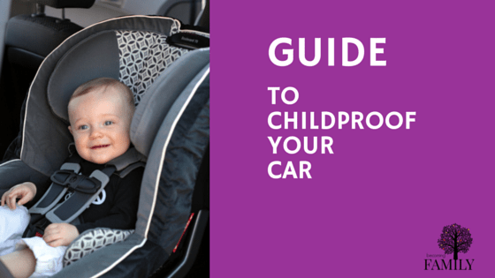 childproof your car
