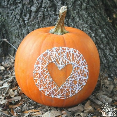 DIY No Carve Pumpkin