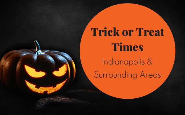 Trick or Treat Times in Indianapolis