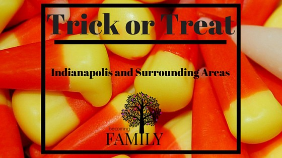 Trick or Treat Times Indianapolis