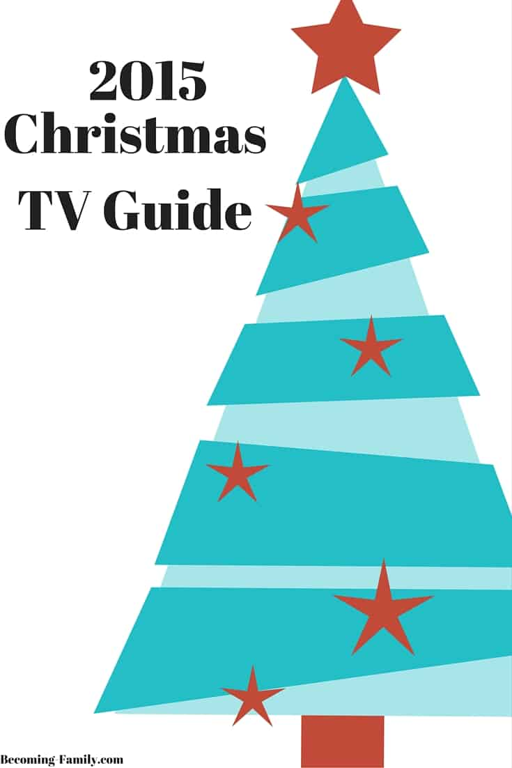 Christmas 2015 TV Pinterest