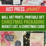 Ultimate Christmas Printable Pack aka Christmas Lifesaver