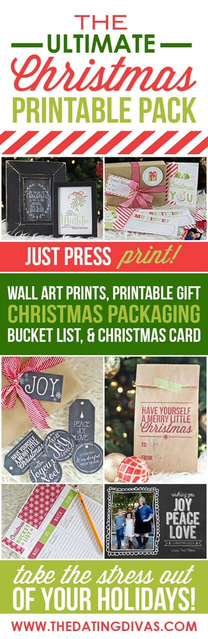 Christmas Printable Indianapolis