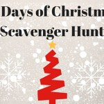 12 Days of Christmas Scavenger Hunt