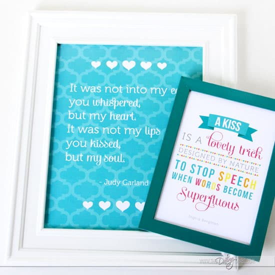 Framed Love Quote 2