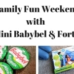 Family Fun Weekend with Mini Babybel & Forts