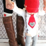 Valentine's Day Baby Boy Outfit