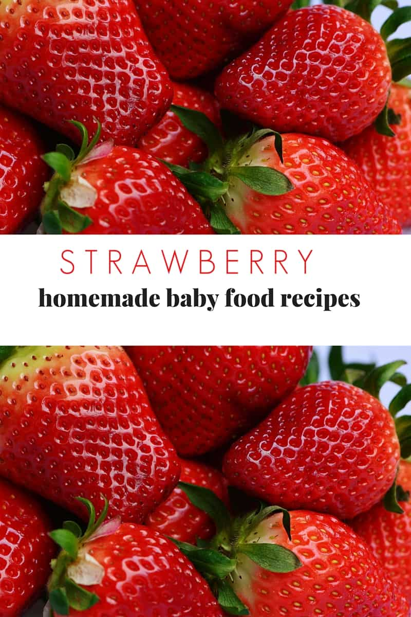 STRAWBERRY Baby recipes