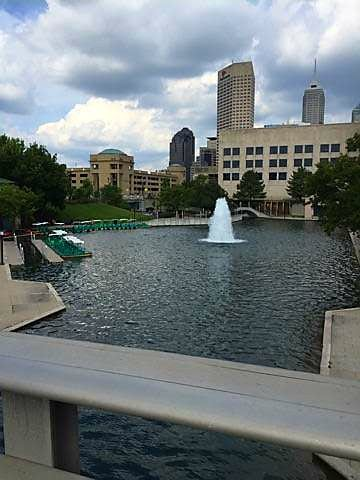 Indianapolis Downtown Canal Pokemon GO