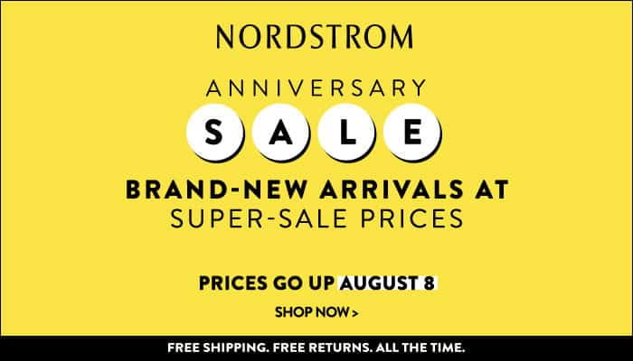 Back to School Savings with Nordstrom's Anniversary Sale