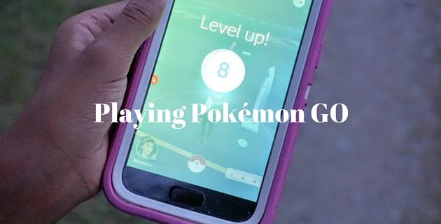 Playing Pokémon Go in Indianapolis