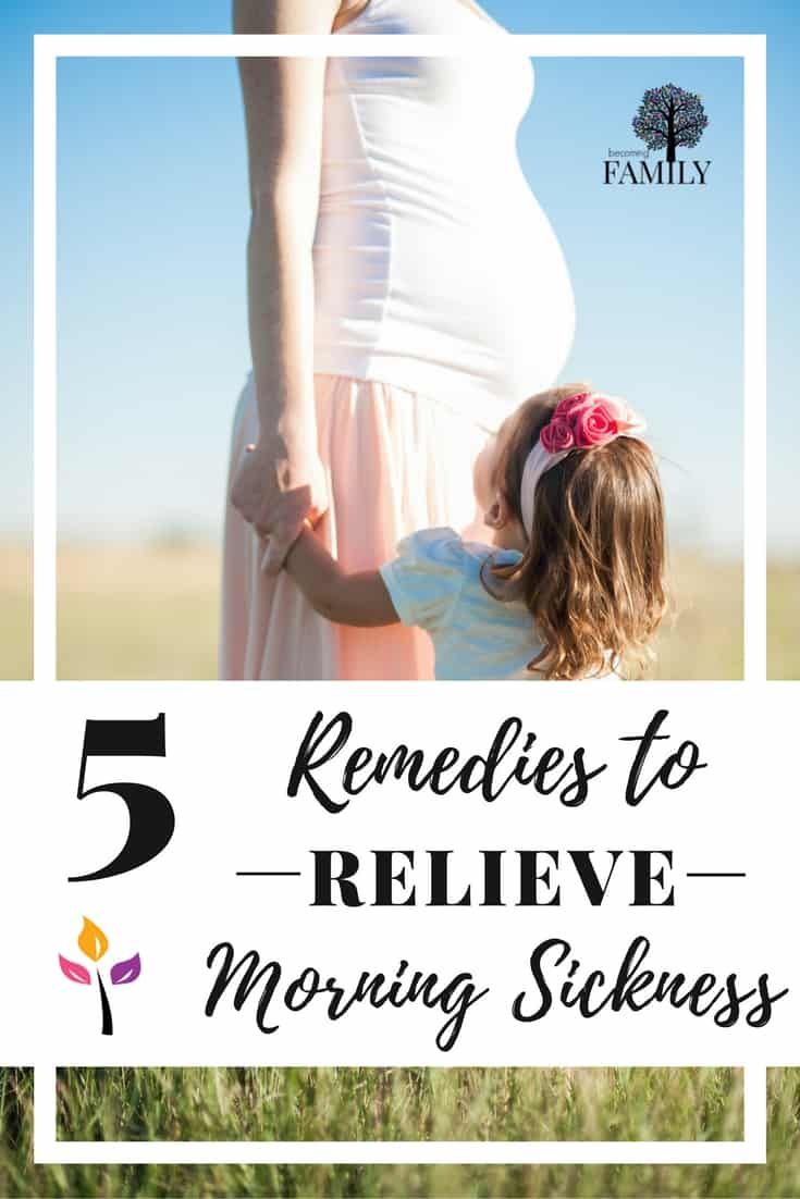 Reliever morning sickness with this 5 remedies