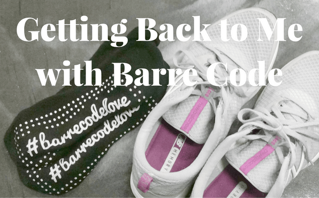 Getting Back to Me with Barre Code