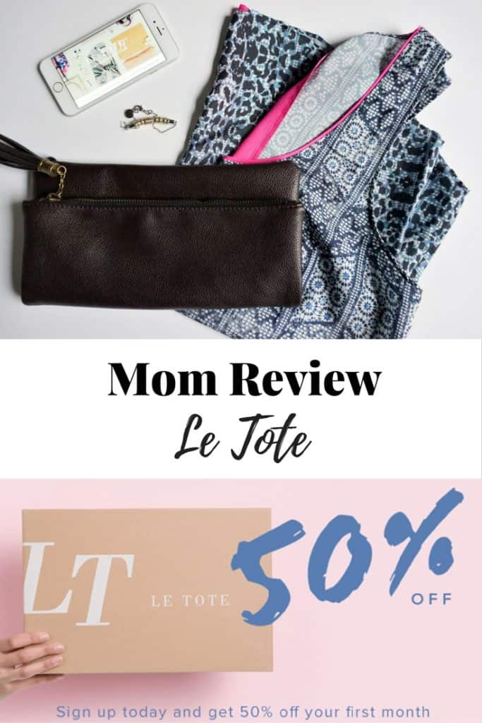Clothing subscription box for women (also included Maternity) . Love Le Tote.