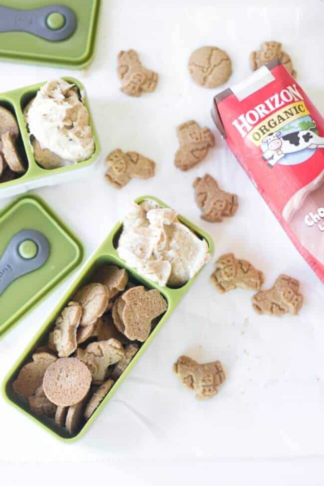Love the idea of Cinnamon graham crackers with cream cheese for a after school snack. So easy to make for the kids.