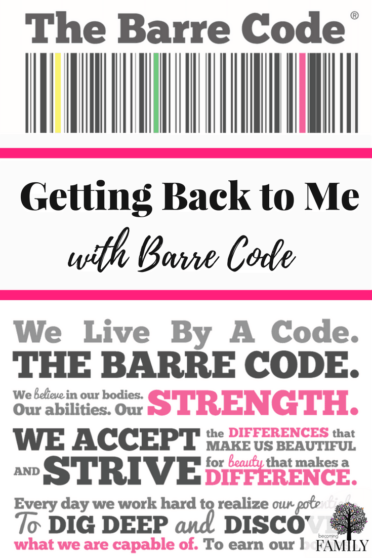 Get a great workout Barre Code.