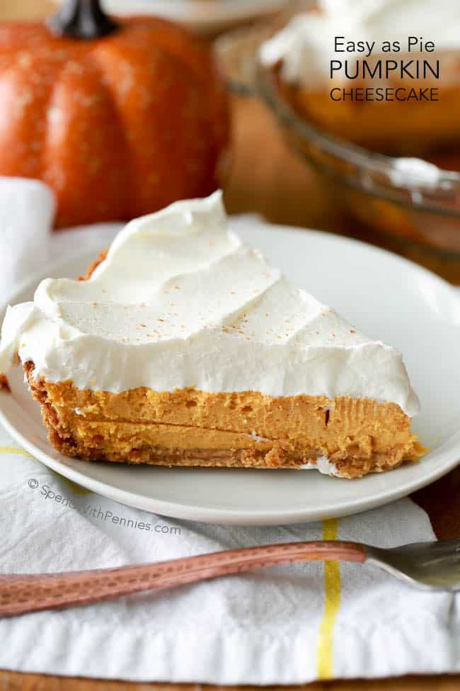 The Simplest Pumpkin Pie Cheesecake to make
