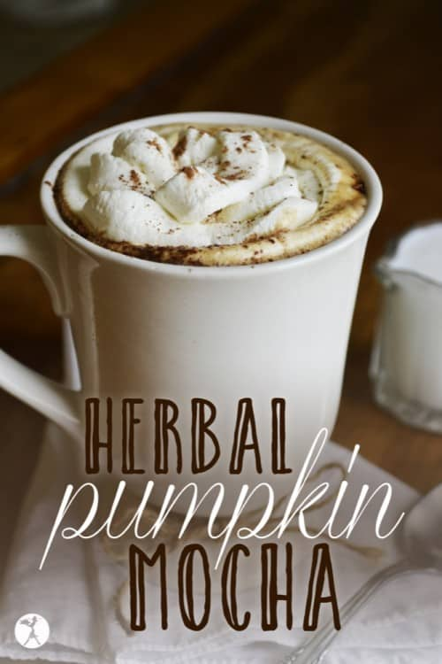 Herbal Pumpkin Mocha: Dairy-Free, Gluten-Free, Grain-Free
