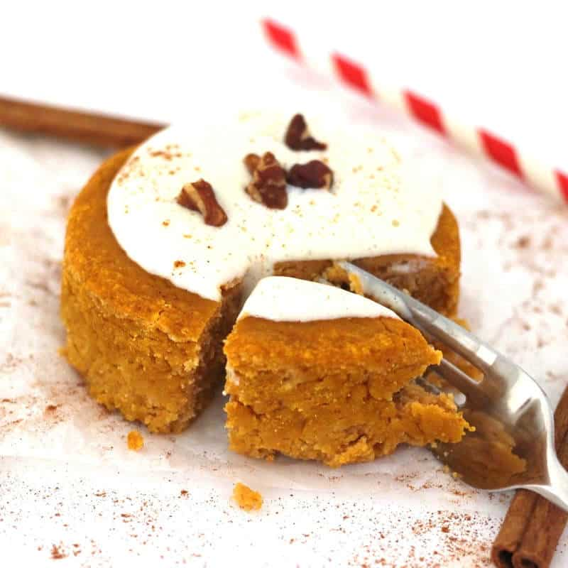 Pumpkin Spice Single Serve Mug Cake