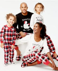 Family Matching Pajama Set from Macys