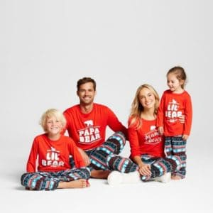 Family Matching Pajama Set from Target