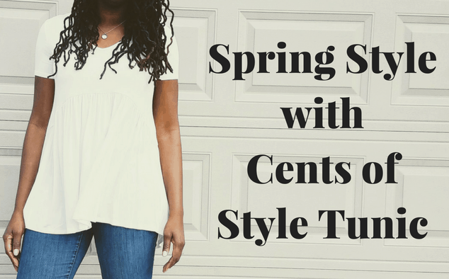 Welcome Spring Style with Cents of Style Tunic
