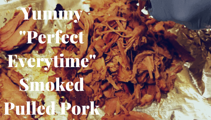Perfect Smoked Pulled Pork