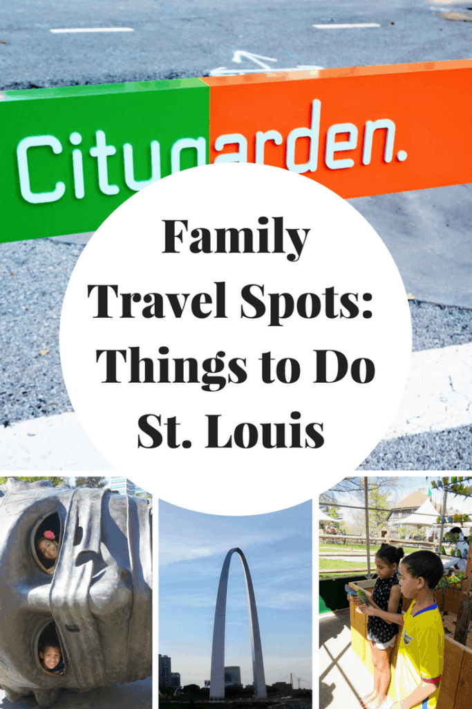 Fun Spot for families to visit in the St. Louis area. And it's free with a great shot of the arch!