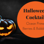 Ocean Prime Berries and Bubbles Halloween Cocktail