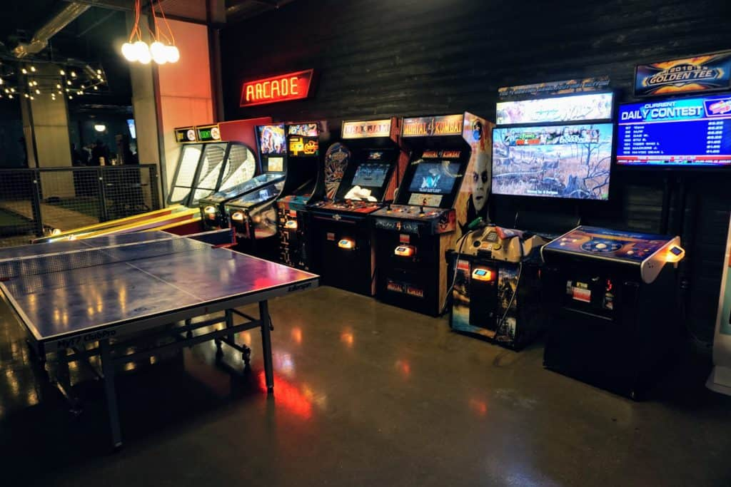 Punch Bowl Social Indianapolis Arcade