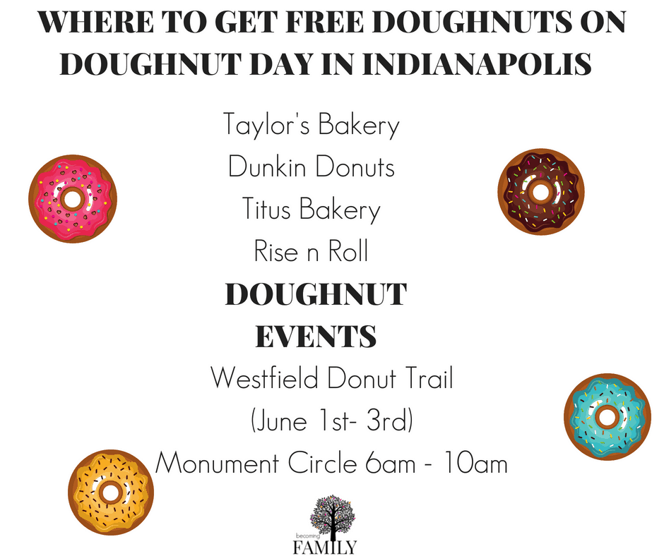 Doughnut Day in Indianapolis