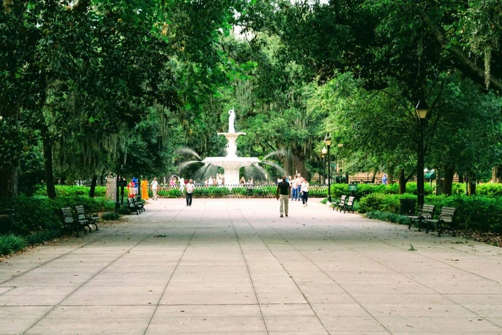 Forsyth Park Savannah Playground