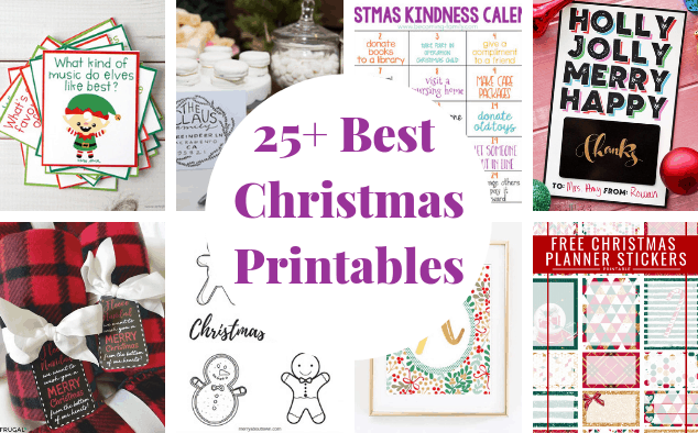25 Best Free Christmas Printables