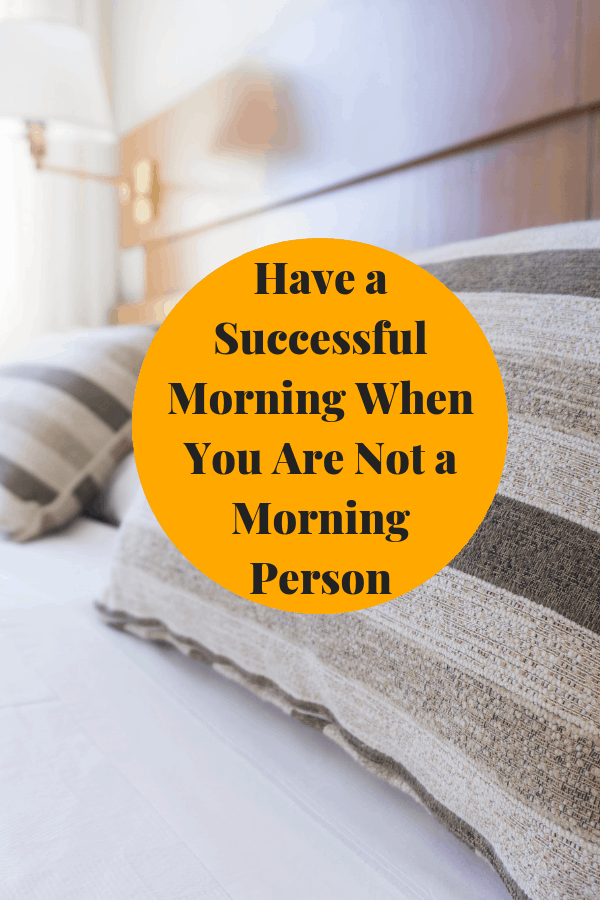Here are a few tips to help you slowly become a morning person orr at least aid in helping you not hate your mornings so much.