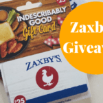 Welcome to Zaxby's Giveaway