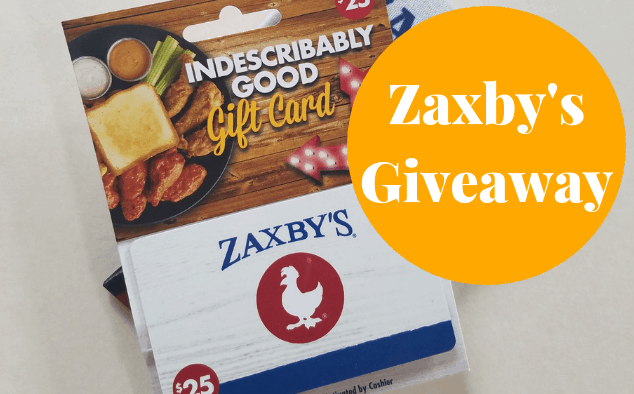 Zaxby's Near Me GIftcard Giveaway